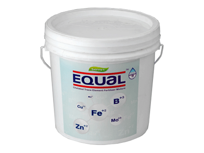 Equal Chealated Trace Element Fertilizer Mixture.