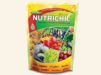 Nutrichil is specially formulated  for making available Organic Nitrogen